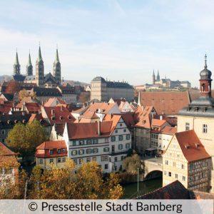 Die wundervolle Altstadt von Bamberg