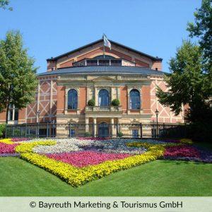 Stadt Bayreuth in Franken Gartenanlage