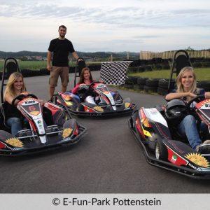 Kartrennbahn im E-Fun-Park Pottenstein