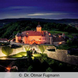 Festung Rosenberg Stadt Kronach