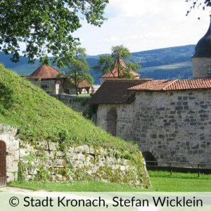 Stadtmauer Stadt Kronach