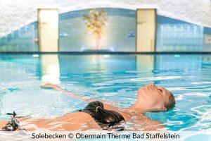 Solebecken der Obermain-Therme Bad Staffelstein