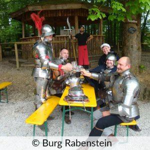 Mittelalterlicher Umtrunk Burg Rabenstein
